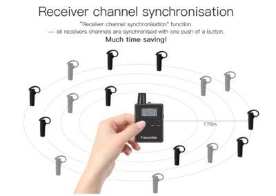 Sincronizzazione canali ricevitore